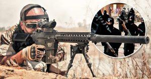 Francotirador mata a soldado de ISIS a 3.4 km y pulveriza el récord mundial de distancia