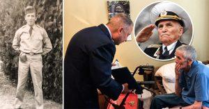Veterano con demencia cree que volverá a Vietnam; un teniente lo visita para 'liberarlo de su deber'