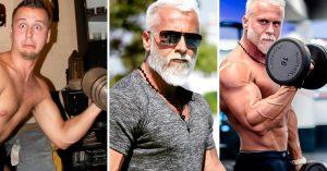 Gasta una fortuna para parecer un abuelo hipster; luce de 60 pero en realidad tiene 35 años