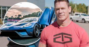 Ford demanda a John Cena por vender su GT 2017; tenía que quedarse con él por al menos 2 años