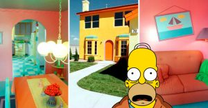 La réplica exacta de la casa de 'Los Simpson' existe; está en EU e iba a ser para un premio de TV