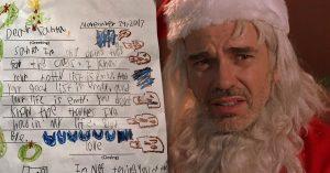 Niño le escribe una brutal carta a Santa y le dice que no sabe nada de la vida; merece un premio