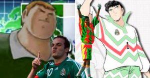 Supercampeones inspirados en futbolistas mexicanos; Oliver nunca le metió un gol a Jorge Campos