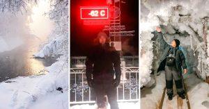 Así es el 2do lugar más frío del planeta ¡Está en Rusia y a -62ºC! El más frío es el corazón de tu ex