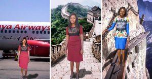 Presumió sus vacaciones por China y los envidiosos dicen que es Photoshop; le hicieron MEMES