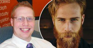 No eres feo, solo lampiño; este hombre se dejó crecer la barba y su vida cambió al instante