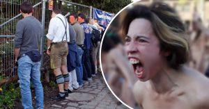 Feminazis quieren prohibir que los hombres orinen de pie porque 'es estereotipo machista'