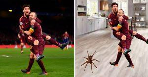 Messi e Iniesta acaban de hacer historia en la Champions; Internet lo celebró con MEMES