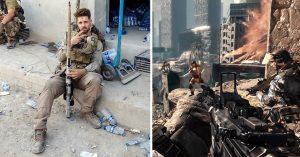 Peleó contra ISIS gracias a lo que aprendió jugando Call of Duty; es un héroe de guerra