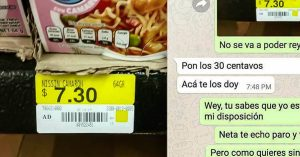 Le pidió a su amigo que le comprara sopa; le faltaban 30 centavos y todo se descontroló