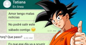 Canceló una cita con su novia por quedarse en casa a ver el final de Dragon Ball Super