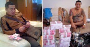 Gángster chino pierde su celular y alguien publica sus fotos ¡Son extrañas y perturbadoras!