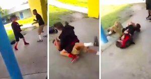 Este Bully sencillamente se metió con el chico equivocado; su víctima sabía MMA