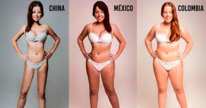 Así cambia la percepción de la belleza femenina según hombres de 18 países