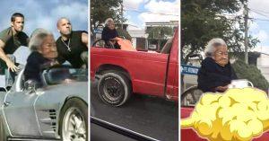 Pobre abuelita: la mandaron a la parte de atrás e Internet no perdona con estos MEMES