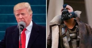 ¡Épico! Trump se 'piratea' el discurso que dio Bane en 'The Dark Knight Rises'