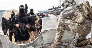 Al estilo Deadpool: Francotirador británico mata a 3 terroristas de ISIS con un solo tiro